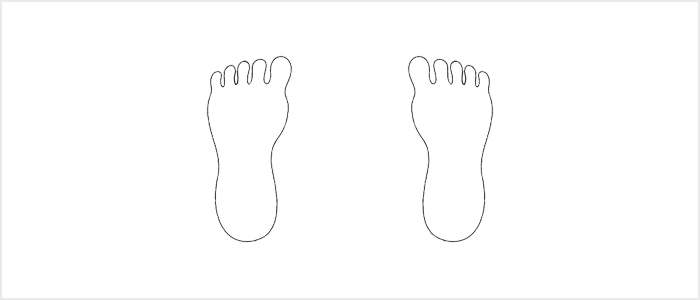 Qi Gong West Sussex - Feet parallel